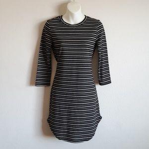 Hype stripped dress